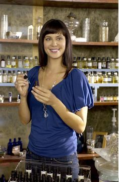 Catherine Bell The Good Witch. I want a shop just like that.