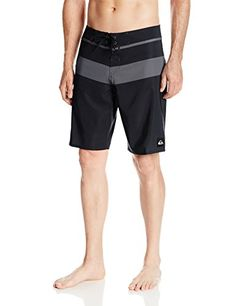 9ec5893fe6 Quiksilver Men's Slater Stripe 20 Inch Boardshort | Wakeboarding World Mens  Boardshorts, Wakeboarding, Swim