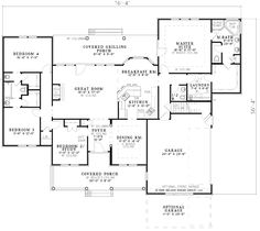 The Lennon House Plan - 2324 sq foot. big for us, but man. It\'s ...