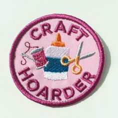 Craft Hoarder Patch