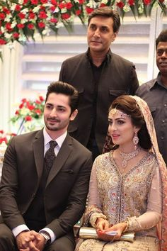 Ayeza Khan n Danish Taimoor Walima Pics Pakistani Bridal Makeup, Pakistani Couture, Pakistani Wedding Dresses, Indian Bridal, Aiza Khan Wedding, Desi Wedding, Bridle Dress, Walima Dress, Ayeza Khan
