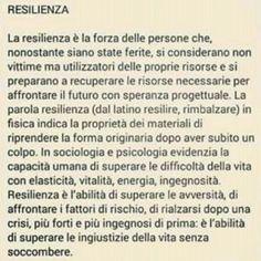 """Relisienza"""