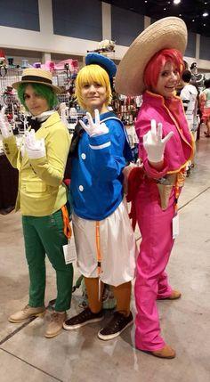 The Three Caballeros!!!