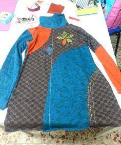 La Abuela Popera: Un abrigo reciclado