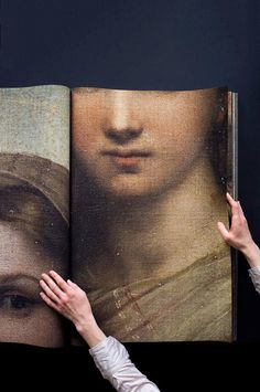 Details of the Sistine Madonna by Raphael, photographed by Katharina Gaenssler, 2012