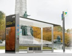 Montreal bus shelter competition winner