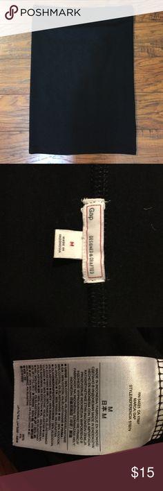 😍 SALE PRICE 😜 stretchy black GAP pencil skirt stretchy GAP skirt, never worn! GAP Skirts Pencil