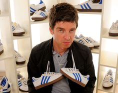 Famously mercurial, former Oasis lead guitarist Noel Gallagher nevertheless ushered a revival of Britpop back in the With his new band, High Flying Britpop, New Bands, Superstar, Adidas Originals, Footwear, Sneakers, Casual, Gifs, Adidas Sneakers