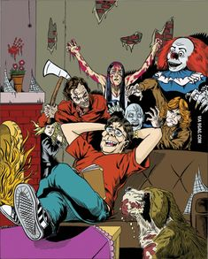 Stephen King has been writing for years, and even those who aren't scary movie fans can appreciate his art. Classics like The Shining and Cujo haunt us, but there's more to this man than just mysterio Stephen King It, Steven King, Stephen King Movies, Saint Yves, Arte Horror, Horror Art, The Shining, Art It, Horror Movie Characters