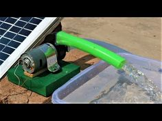 How to Make a mini SOLAR WATER PUMP at home // New Easy Way - YouTube