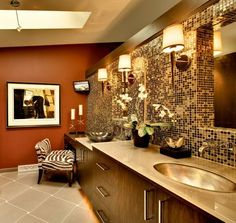 Contemporary Bathroom by Sazama Design Build Remodel