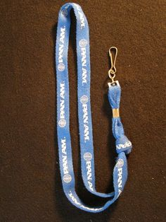 Pan Am Airways Lanyard Airline Collectible by heritagetrade, $9.95