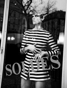 For Sale  Saskia de Brauw by Peter Lindbergh for Interview Magazine March 2013