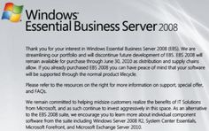 Microsoft discontinuing midmarket server | Beyond Binary - CNET News