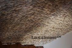 Ta #ściana przy schodach ma na sobie #otoczaki 3D #Lux4home™. Na żywo wygląda imponująco, na zdjęciach zresztą też... Model Ścianki z kamienia #Malukutan. Idealne #kamienie na #ściany.