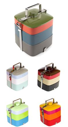 I would love to eat my lunch in these containers
