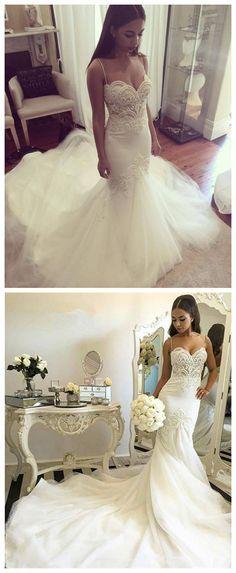 Wedding Dresses,Wedding Gown,Princess Wedding Dresses Mermaid Wedding Dress
