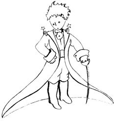 Coloring Pages The Little Prince by Saint-Exupery Drawing Coloring Pages To Print, Animal Coloring Pages, Free Coloring Pages, Coloring For Kids, Coloring Sheets, Coloring Books, Little Prince Tattoo, Little Prince Party, The Little Prince