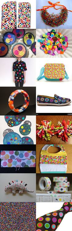 Super Dots! by 3buu on Etsy--Pinned with TreasuryPin.com