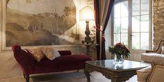 Décor Inspiration   A Beautifully Restored 13th Century Tuscan Villa