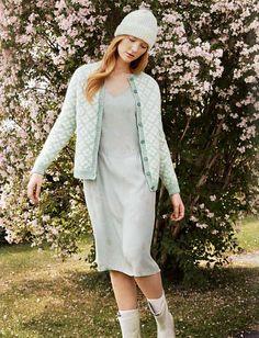 Ravelry: Alpakka Jakke pattern by Rauma Design Ravelry, Knitting Patterns, Sweaters, Knits, Crafting, Dresses, Design, Diy, Fashion