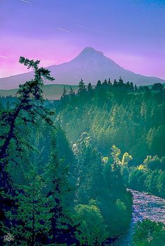 Hood #River, #Oregon, USA