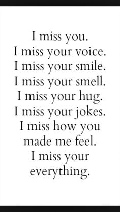 Soulmate Quotes : 25 Miss You Quotes