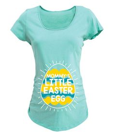 Pregnancy Shirts Maternity T shirts Top Tunic Clothes Oh Egg Funny Slogan Easter
