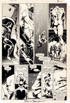 Frank Miller and Klaus Janson Daredevil #185 Page 15 - Original Art | miller | Pinterest | Frank miller, Originals and Comic