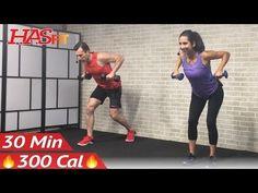 30 Min Beginner Weight Training for Beginners Workout Strength Training Dumbbell Workouts Women Men - YouTube