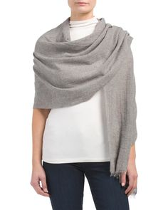 ecf00b6357 Made+In+Italy+Cashmere+Blend+Wrap Cashmere