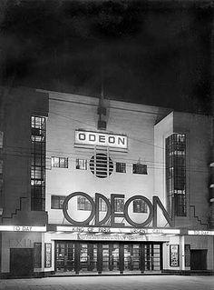 Odeon Cinema, Claremont Road, Surbiton, London