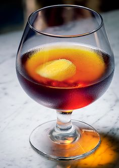The Golden Age  A Manhattan for the rum lover.