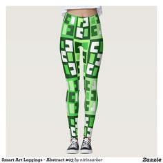 Smart Art Leggings - Abstract #03
