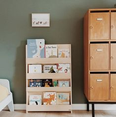 Do you love mixing old and new for a classic interiors look? Check out this cool combo from - with a mid century locker cabinet and a Tidy Books bookcase in natural. Tidy Books, Kids Bookcase, Classic Interior, Nordic Design, Mid Century House, Mid Century Furniture, Old And New, Kids Bedroom, Locker Storage