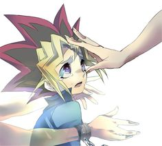 Little boy, Little boy, why are you crying? Inside your restless soul your heart is slowly dying~ Yugi I don't get this picture completely but I think it's good and I love the quote above that was the original caption Sad Anime, Anime Love, Manga Anime, Yu Gi Oh Zexal, Wattpad, Kids Cards, Cute Art, Memes, Pokemon