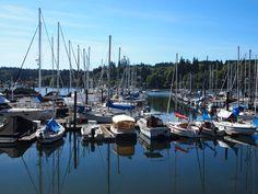 Winslow Marina, Bainbridge Island, WA Bainbridge Island, San Francisco Skyline, Seaside, Photos, Travel, Pictures, Viajes, Beach, Destinations