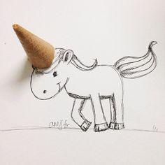 Playful Daily Doodles by Ann Jaafar