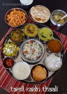 Veggie Platter: A Tamilnadu Thaali
