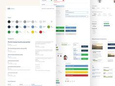 UI Style Guide by Joshua Krohn #Design Popular #Dribbble #shots