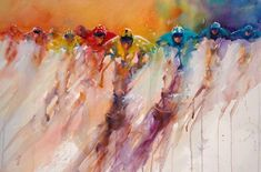 The Magic of Watercolour Painting Virtual Gallery - Jean Haines, Artist - Racing