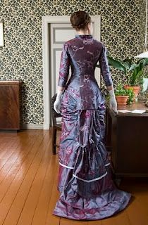 Gorgeous Victorian evening dress reproduction.