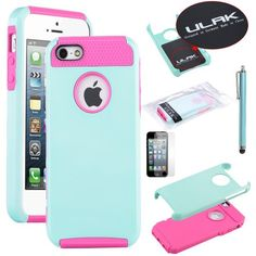 Pandamimi ULAK Aqua Blue & Rose Pink Fashion Sweety Girls TPU + PC 2-Piece Style Soft Hard Case Cover for iPhone 5 5S with Free Screen Protector and Stylus ULAK,http://www.amazon.com/dp/B00CM3OGSA/ref=cm_sw_r_pi_dp_WWU.sb1CBRVHAJZ3