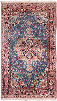 4×7 Persian Kerman Rug