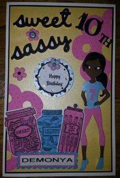 Sweet & Sassy Birthday Card...