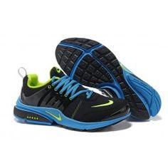 lowest price 56316 217cd Beste Nike Air Presto V5 Leder Männer Schwarz Blau Grün Schuhe Online    Beliebt Nike Air Presto Schuhe Online   Nike Schuhe Online Und Günstige ...