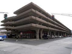 Paul Rudolph, Parking Garage, New haven