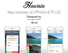 """Check out new work on my @Behance portfolio: """"Hawaia""""…"""