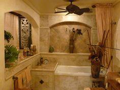 Egyptian Bathroom Theme Residential