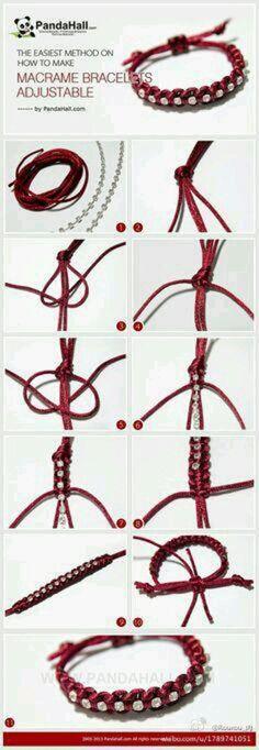 手工 编绳 DIY 手链 手绳 热爱手工欢迎交流分享 微博关注 手工Y1Y1an-